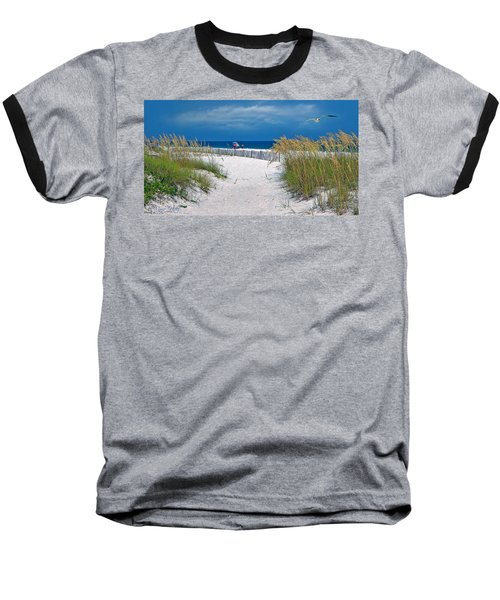 Carefree Days By The Sea Baseball T-Shirt