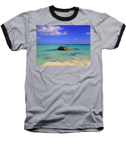 Baseball T-Shirt featuring the photograph Caribbean Colors  by Eti Reid