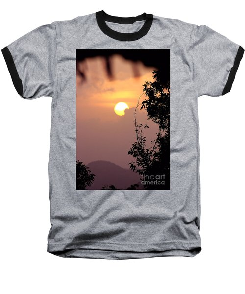 Caribbean Summer Solstice  Baseball T-Shirt by The Art of Alice Terrill