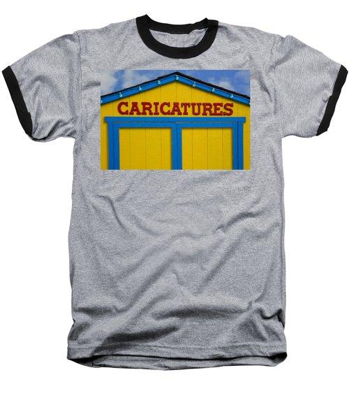 Caricatures Baseball T-Shirt