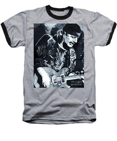 Carlos Santana - Black Magic Woman Baseball T-Shirt