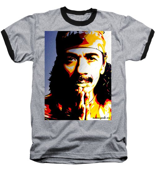 Carlos Santana. Baseball T-Shirt
