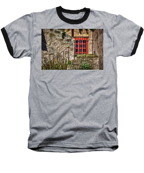 Carmel Mission 10 Baseball T-Shirt by Ron White