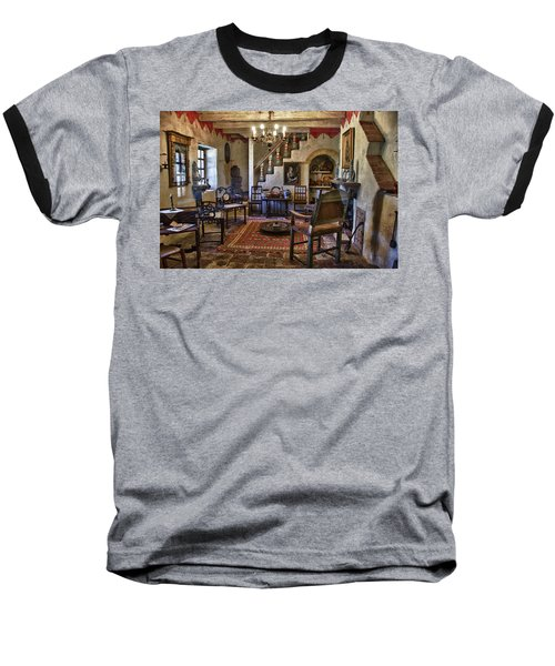 Carmel Mission 6 Baseball T-Shirt by Ron White