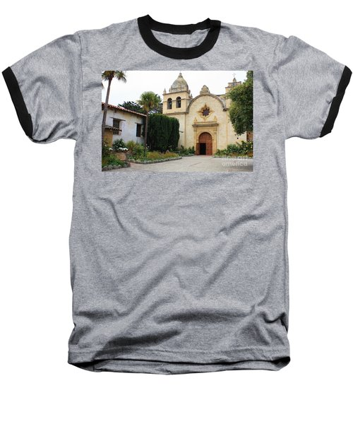 Carmel Mission Church Baseball T-Shirt