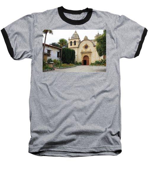 Carmel Mission Church Baseball T-Shirt
