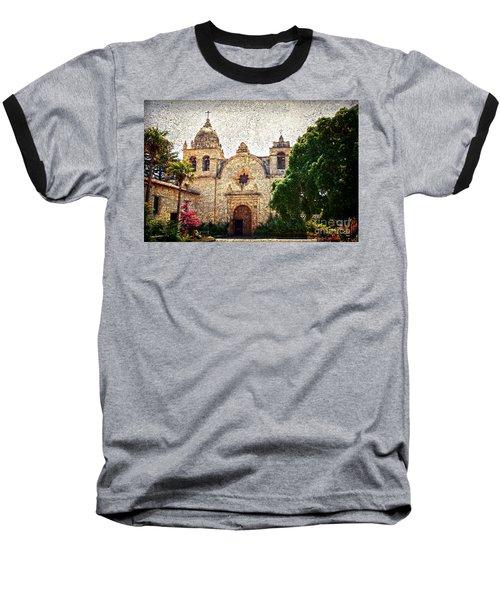 Carmel Mission Baseball T-Shirt by RicardMN Photography