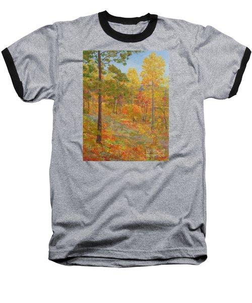 Carolina Autumn Gold Baseball T-Shirt