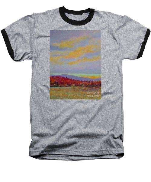 Carolina Autumn Sunset Baseball T-Shirt