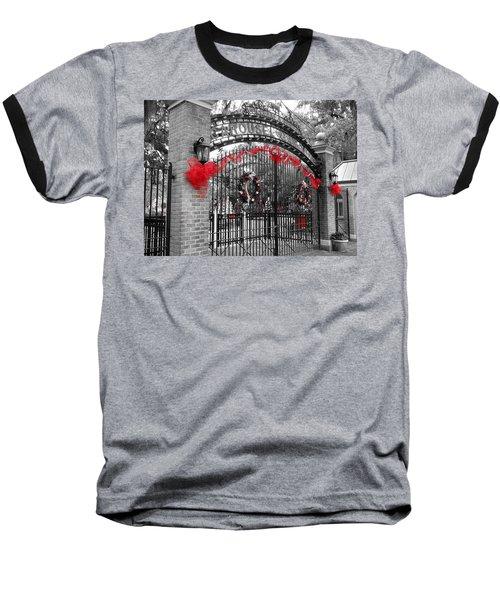 Carousel Gardens - New Orleans City Park Baseball T-Shirt