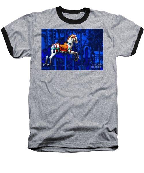 Carousel Horse Baseball T-Shirt