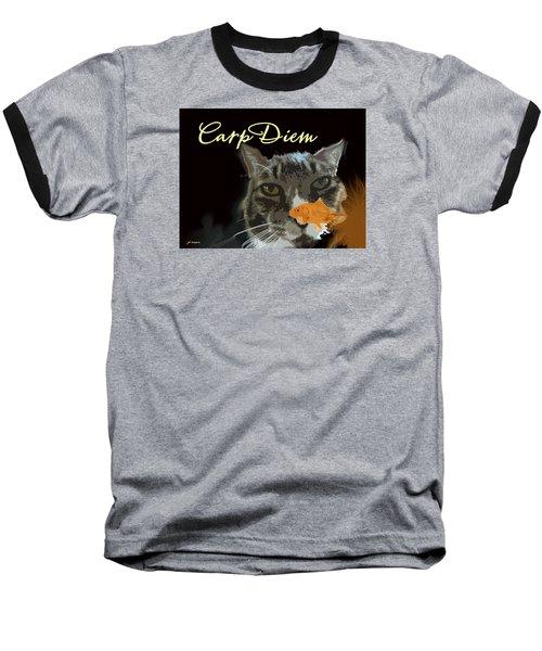 Carp Diem Baseball T-Shirt