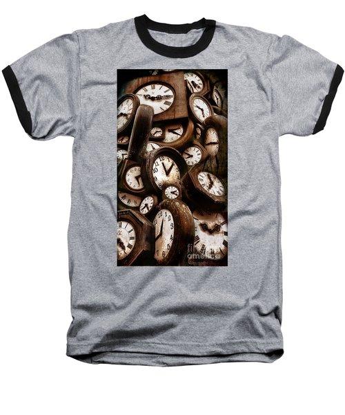 Carpe Diem - Time For Everyone Baseball T-Shirt