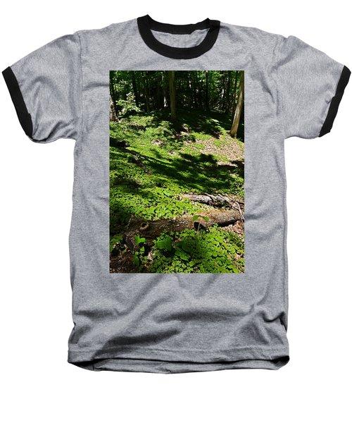 Carpeted In Green Baseball T-Shirt
