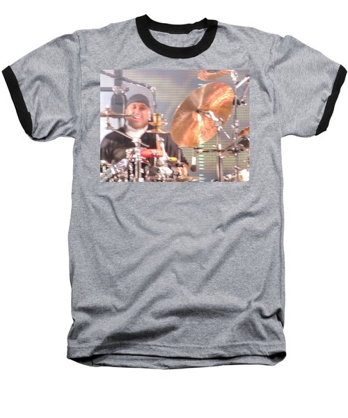 Baseball T-Shirt featuring the photograph Carter Doing What He Does Best by Aaron Martens