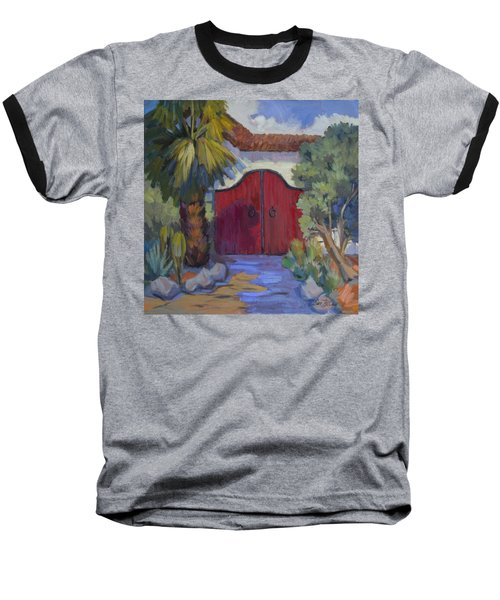 Casa Tecate Gate 2 Baseball T-Shirt by Diane McClary
