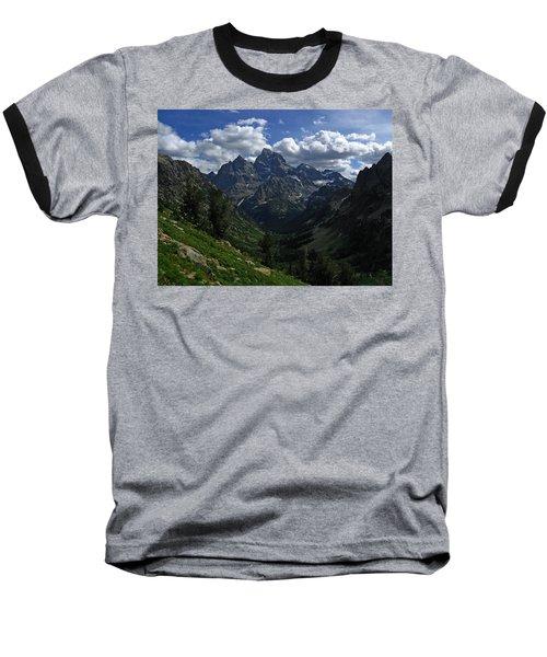 Cascade Canyon North Fork Baseball T-Shirt