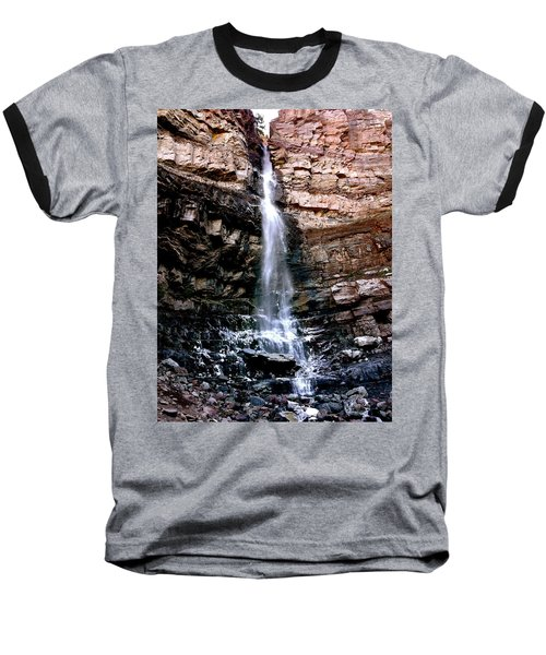 Cascade Falls Baseball T-Shirt by Jeff Gater