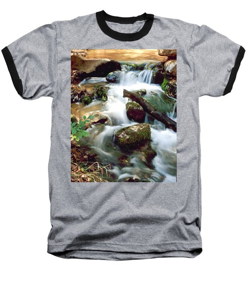 Cascades In Roman Nose State Park Baseball T-Shirt