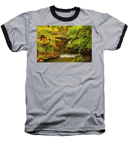 Cascadilla Gorge Cornell University Baseball T-Shirt