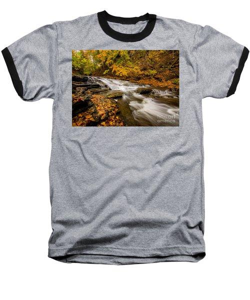 Cascadilla Gorge Trail Baseball T-Shirt