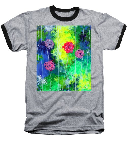 Cascading Light By Jan Marvin Baseball T-Shirt