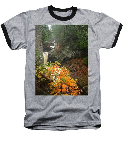 Baseball T-Shirt featuring the photograph Cascading Steps by James Peterson