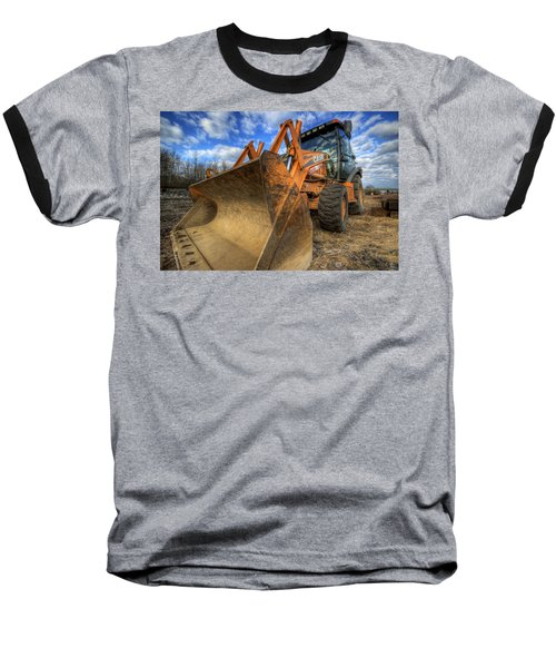 Case Backhoe Baseball T-Shirt