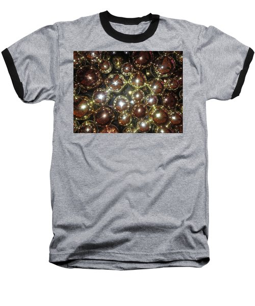Baseball T-Shirt featuring the photograph Casino Sparkle Interior Decorations by Navin Joshi