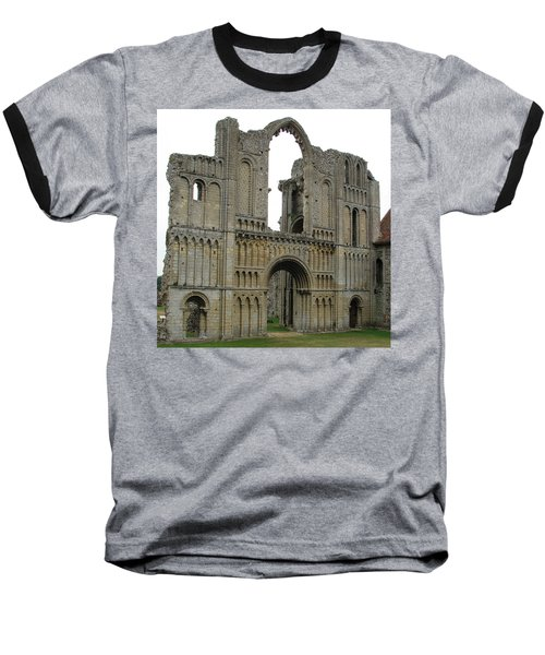 Baseball T-Shirt featuring the photograph Castle Acre Abbey by Stephanie Grant