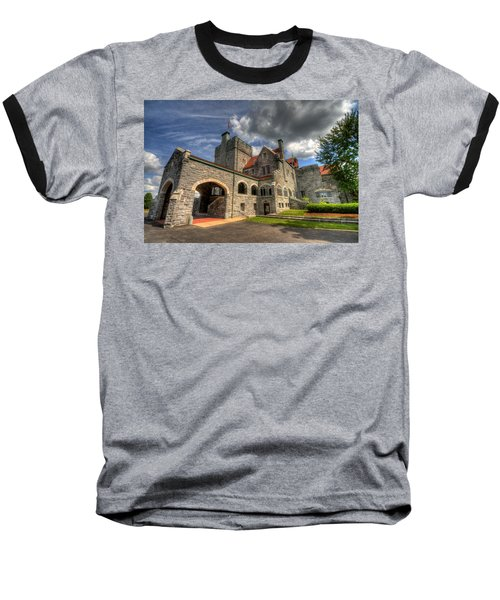 Castle Administration Building Baseball T-Shirt
