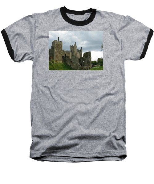 Castle Curtain Wall Baseball T-Shirt