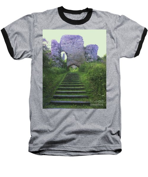 Baseball T-Shirt featuring the photograph Castle Gate by John Williams