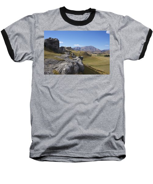 Castle Hill #6 Baseball T-Shirt by Stuart Litoff