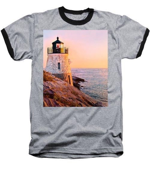Castle Hill Light 3 Baseball T-Shirt