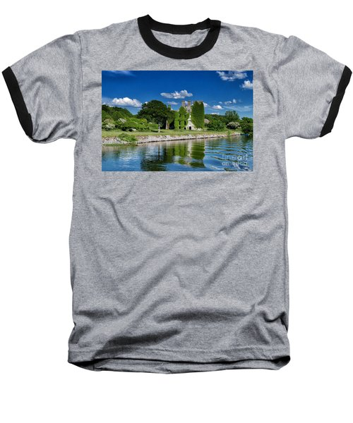 Castle Menlo  Baseball T-Shirt by Juergen Klust