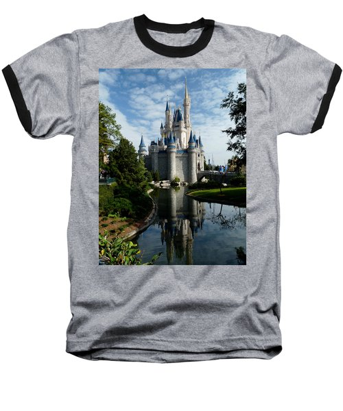 Castle Reflections Baseball T-Shirt