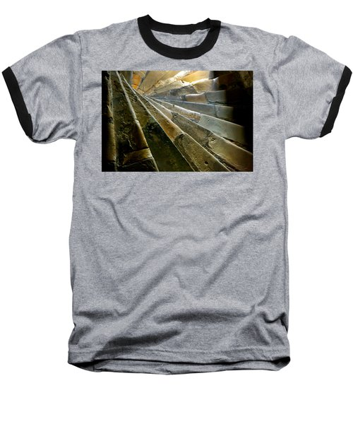 Castle Steps Baseball T-Shirt