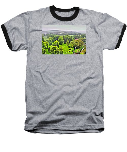View From The Castle Baseball T-Shirt