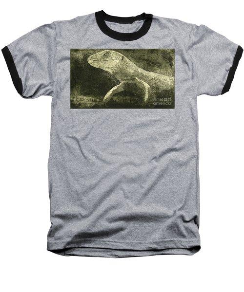 casual meeting Reptile Viviparous Lizard  Lacerta vivipara Baseball T-Shirt