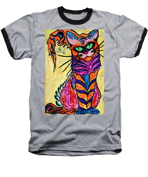 Cat 3 Baseball T-Shirt