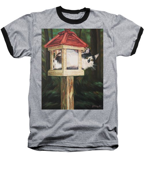 Cat House Baseball T-Shirt