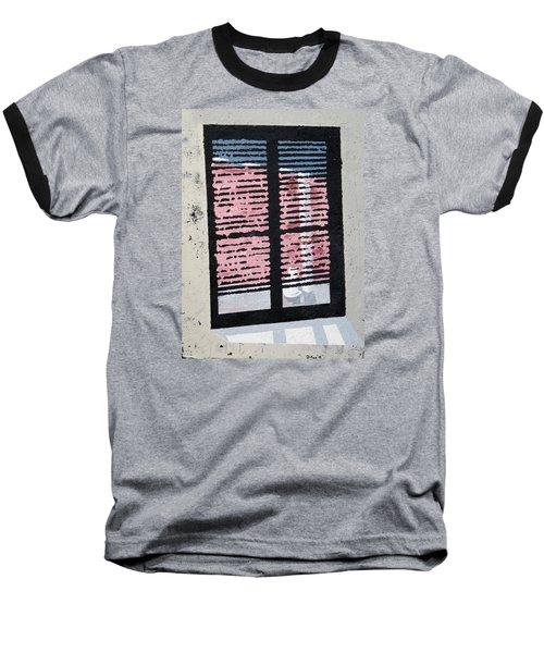 Cat N Window Baseball T-Shirt