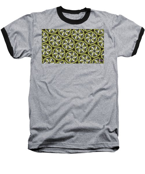 Baseball T-Shirt featuring the photograph Cat /shoe /rose #2 by Elizabeth McTaggart