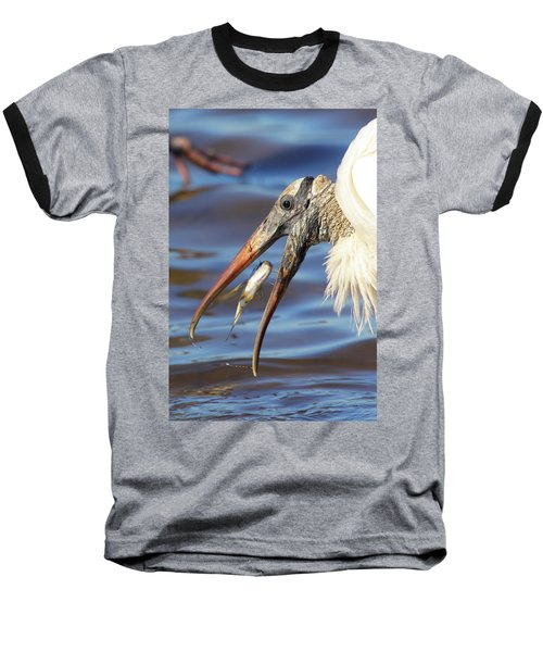 Catch Of The Day Baseball T-Shirt by Bruce J Robinson