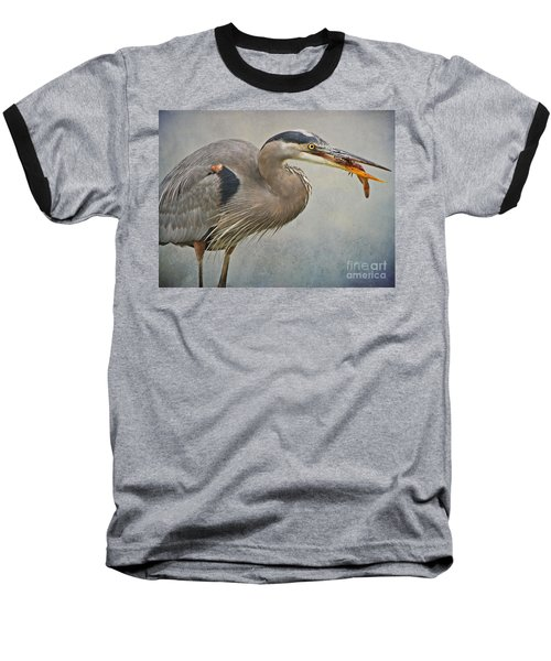 Baseball T-Shirt featuring the photograph Catch Of The Day by Heather King