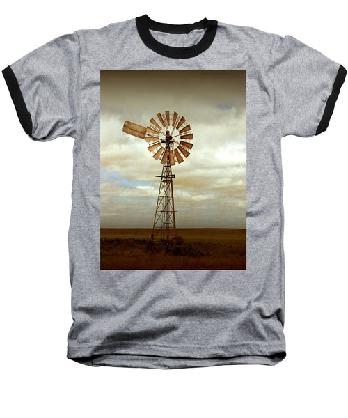 Catch The Wind Baseball T-Shirt by Holly Kempe
