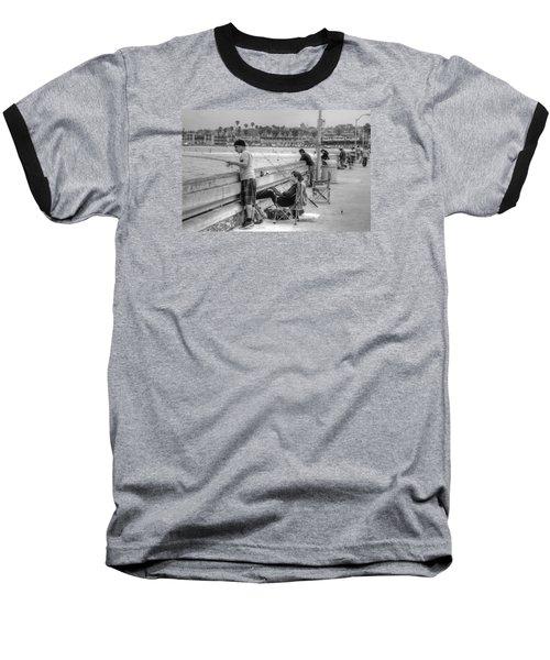 Catching More Than Fish Baseball T-Shirt