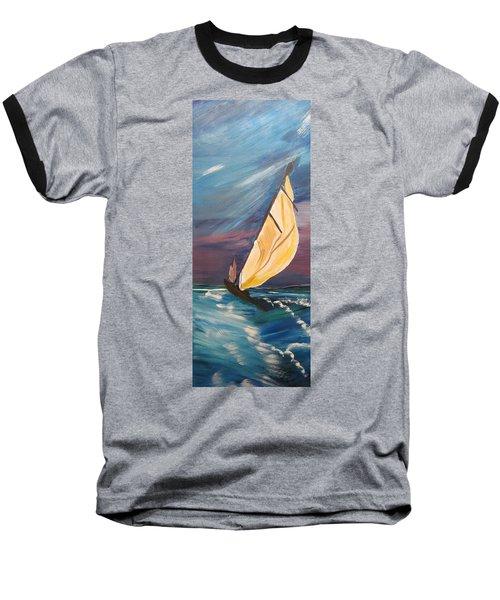 Catching The Wind Baseball T-Shirt