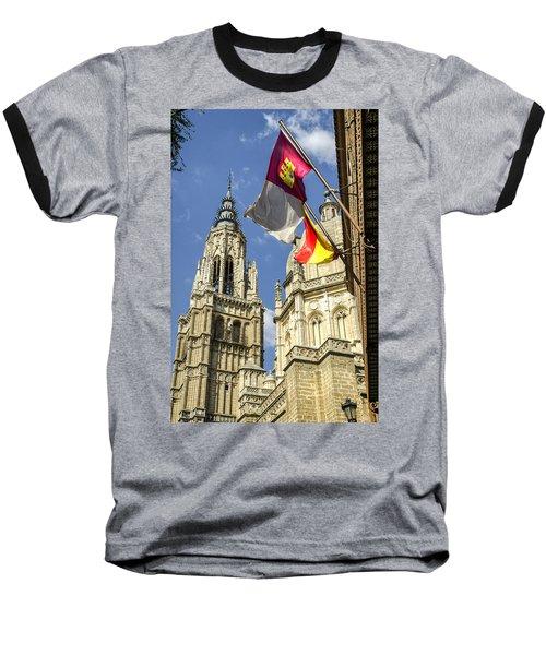 Catedral De Santa Maria De Toledo Baseball T-Shirt